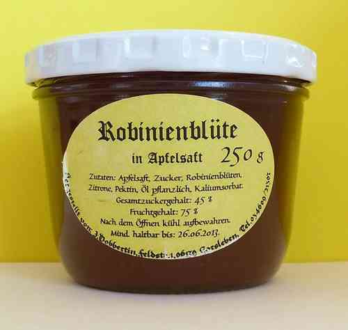 Robinia apple jelly